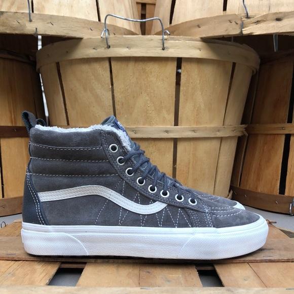 Vans Shoes   Sk8hi Mte Suede Sneakers